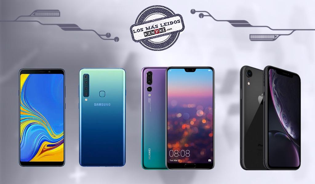 Los tres grandes celulares que llegaron en 2018