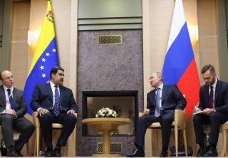 Sanciones de EE. UU. no cambian relación Rusia-Venezuela