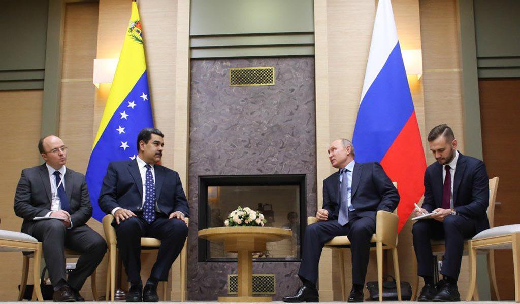 Rusia Intervención Venezuela