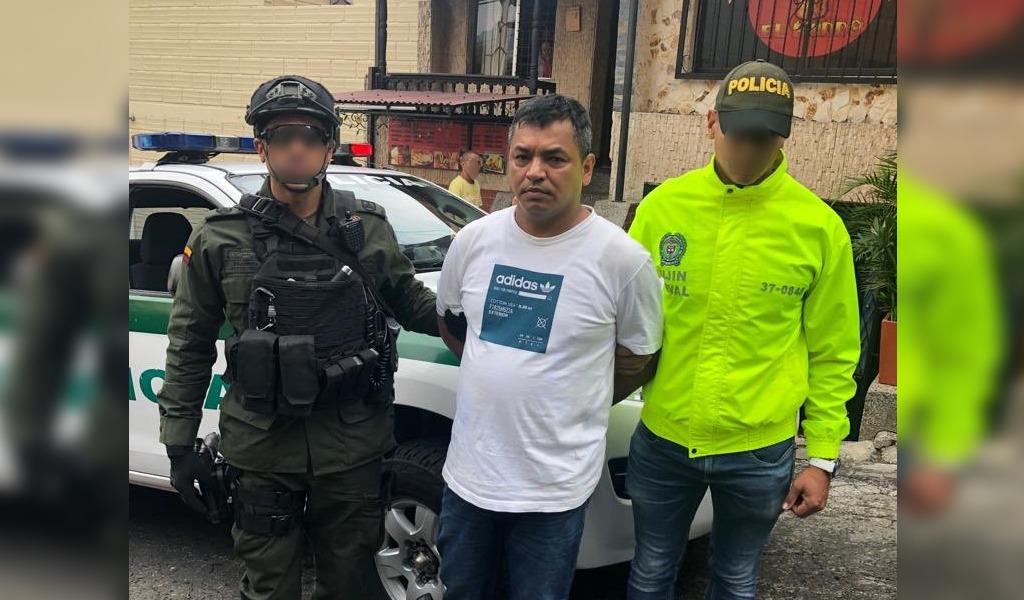 Capturado 'Boyaco' el terror en noroccidente de Medellín