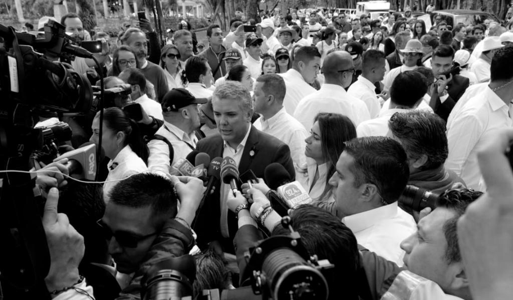 """""""Colombia unida es invencible frente a las amenazas"""""""