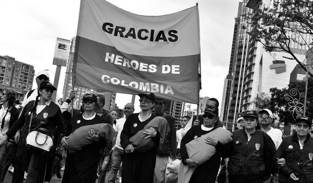 En vivo: Colombianos expresan su solidaridad en marcha