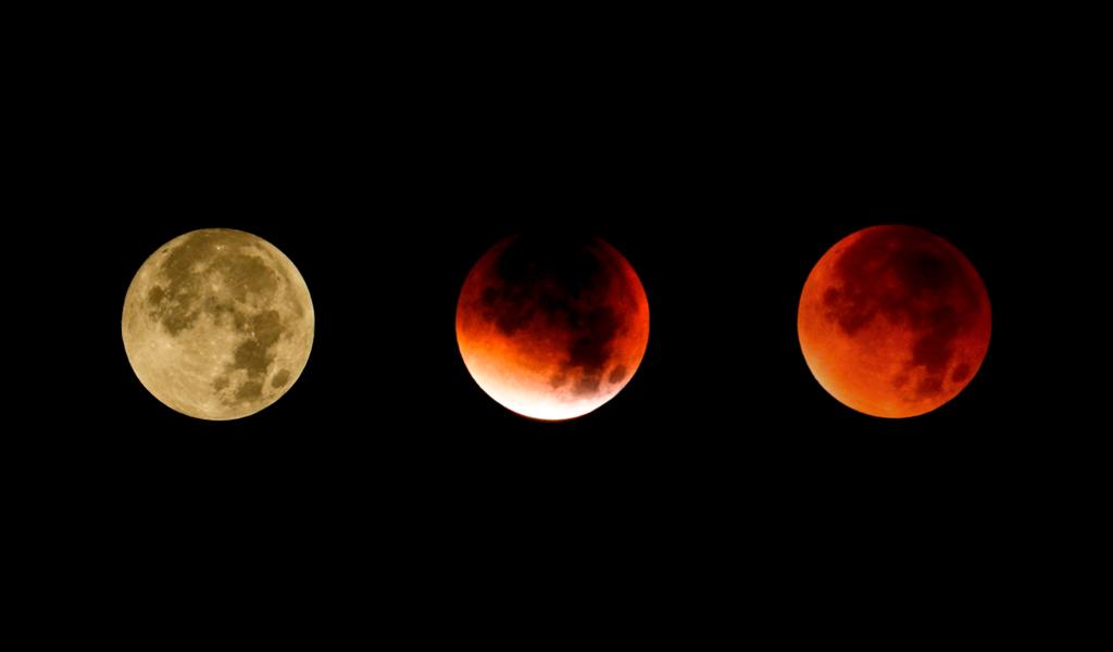 """Cómo ver el eclipse lunar de """"sangre"""" este domingo"""