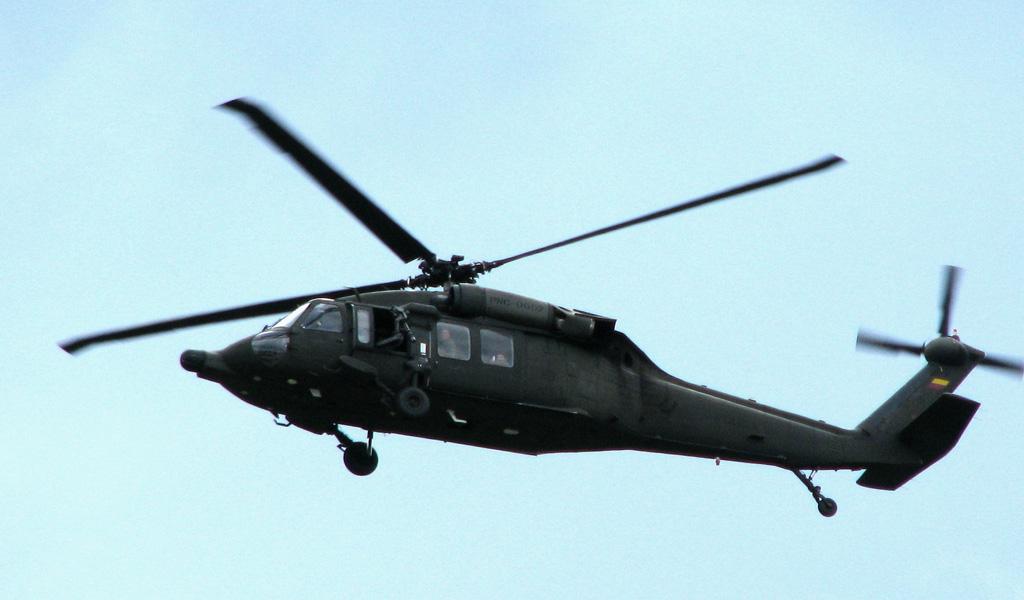 Helicóptero fue atacado en Norte de Santander