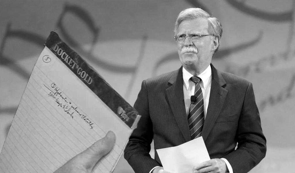 La nota de John Bolton ¿realidad o disuasión?