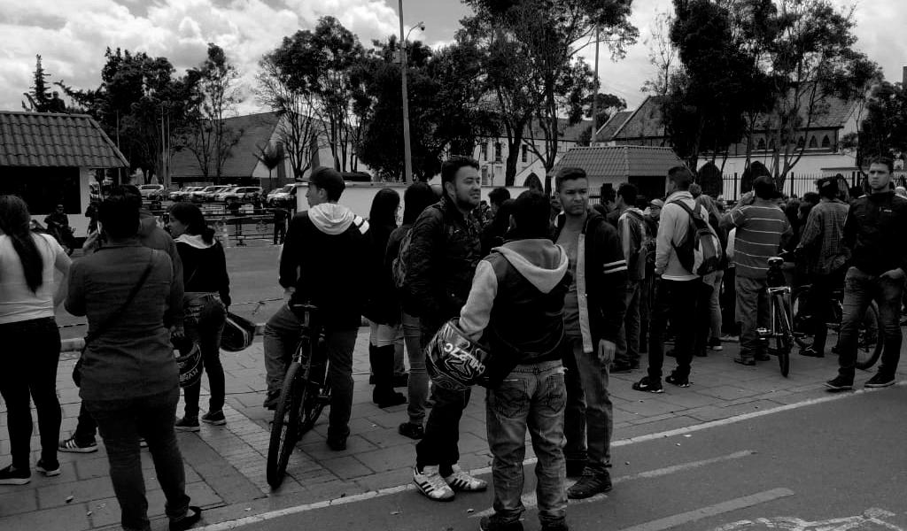Bogotá, un día de incertidumbre por un atentado