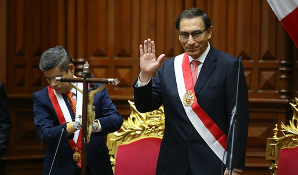 Vicepresidenta de Perú defendió a Vizcarra por caso Odebrecht