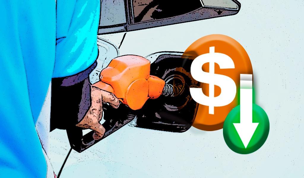 Inicia el año con reducción en precios de combustibles