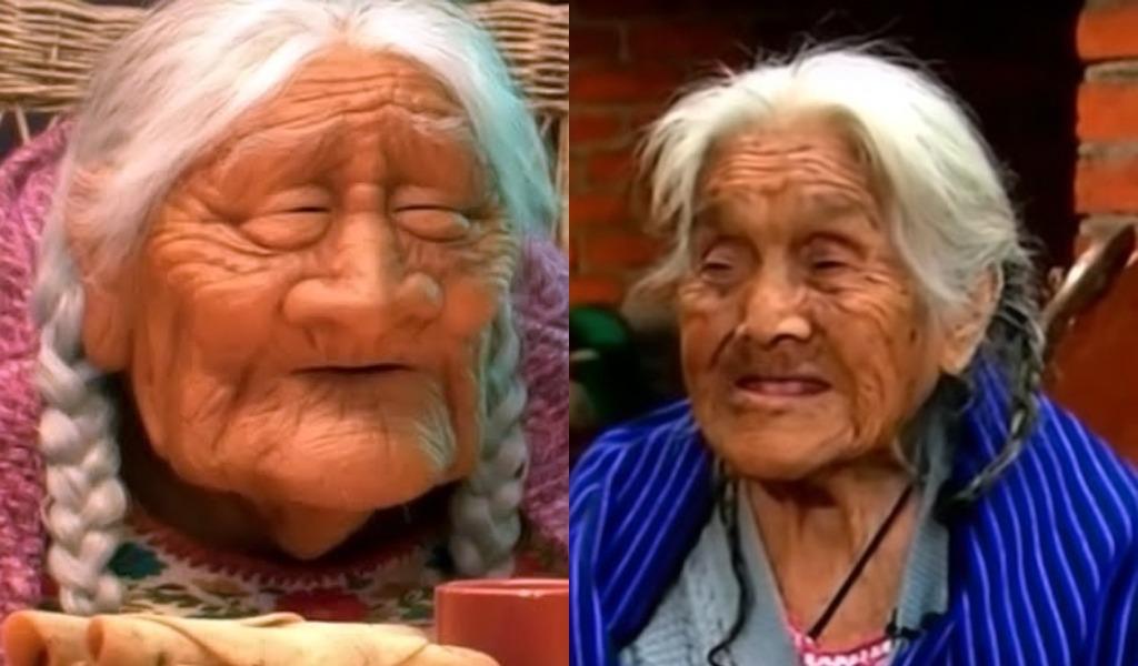 Abuelita se vuelve famosa por su parecido a Mamá Coco