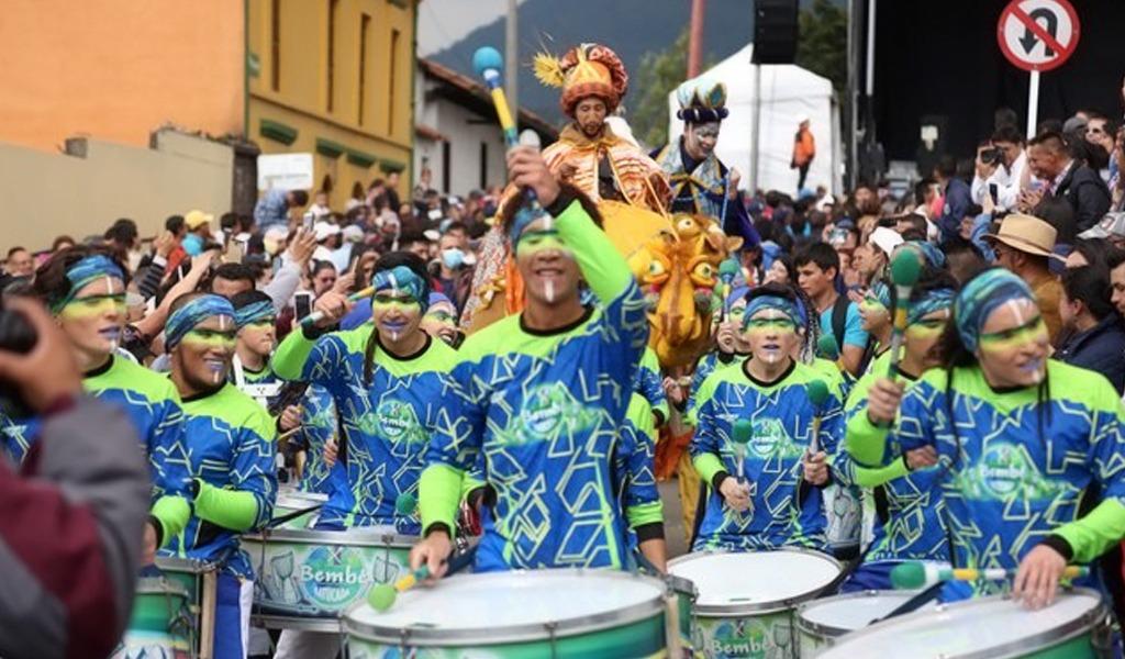 Bogotá recibe a los Reyes Magos