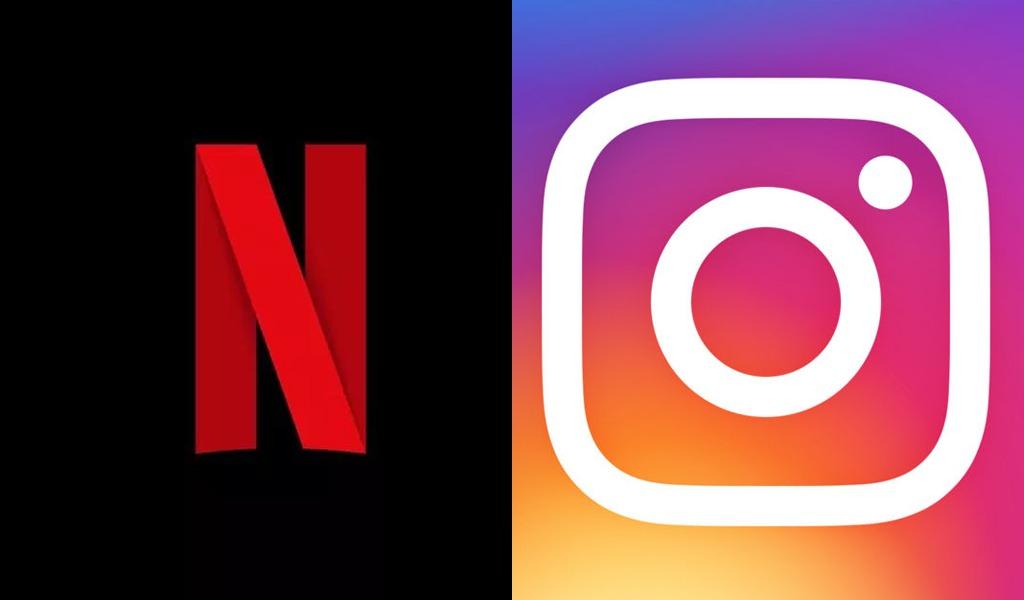 Netflix se une con Instagram para compartir sus contenidos