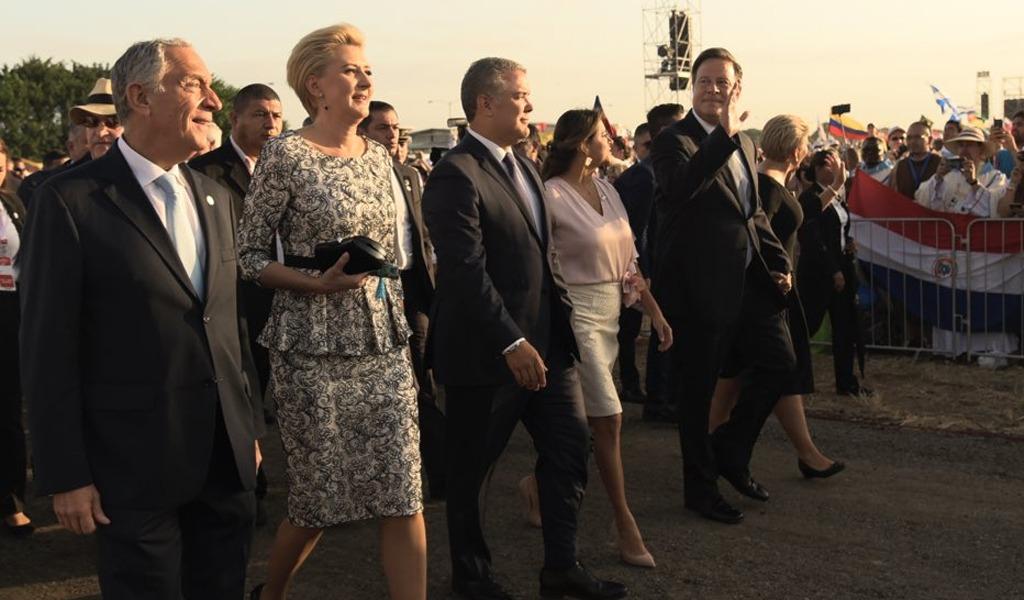 Presidentes llegan a Panamá para participar de la JMJ