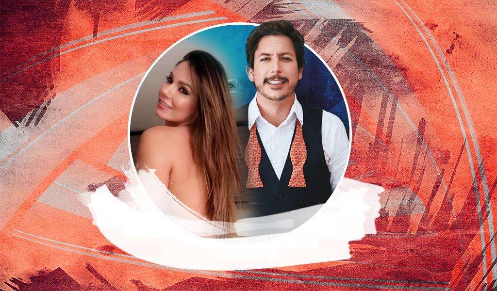 Alejandro Riaño de fiesta con actriz porno