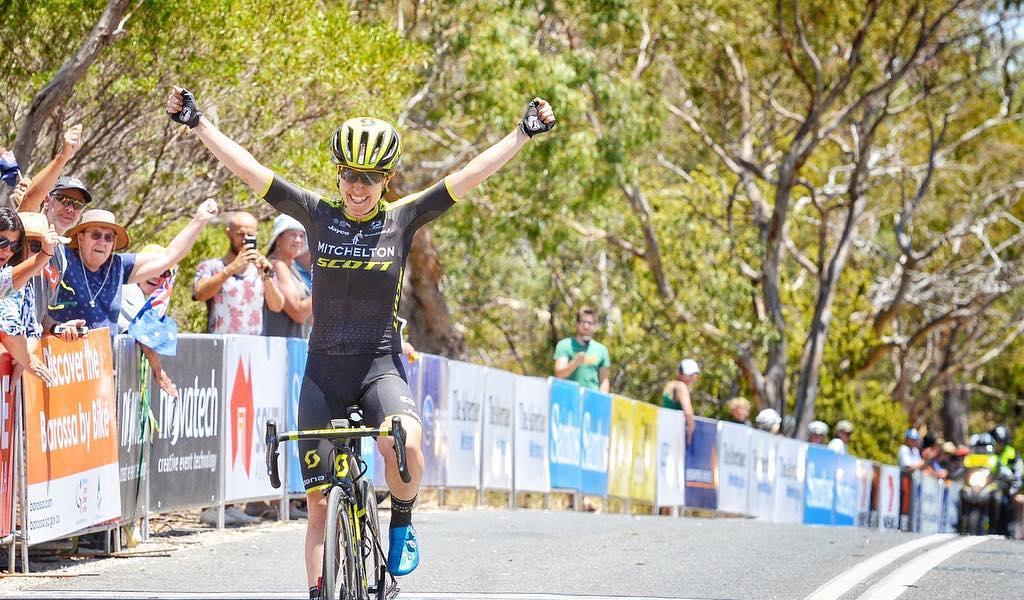 Título de Amanda Spratt en el Tour Down Under Femenino