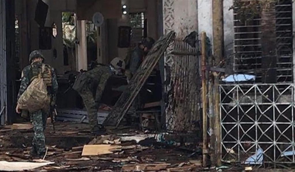 Ataque bomba en iglesia de Filipinas