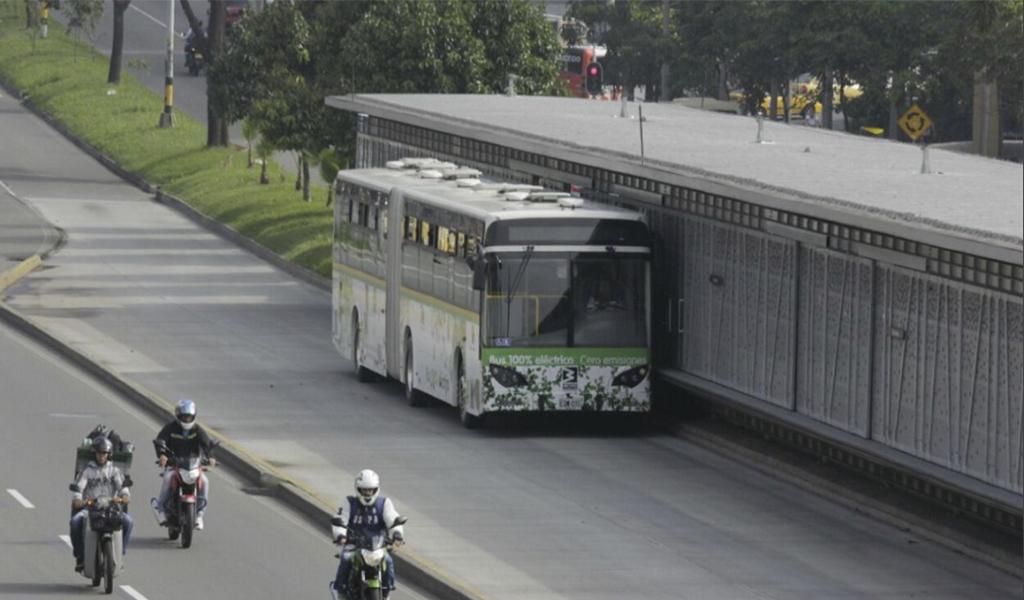 En agosto operarán nuevos buses eléctrico en Medellín