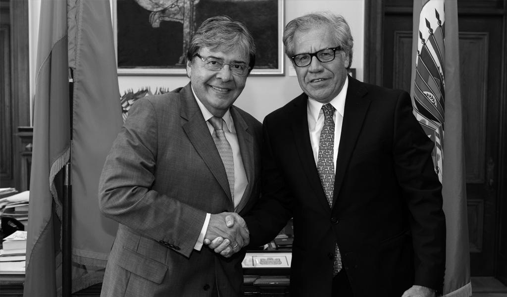 Colombia respalda reelección de Almagro en OEA