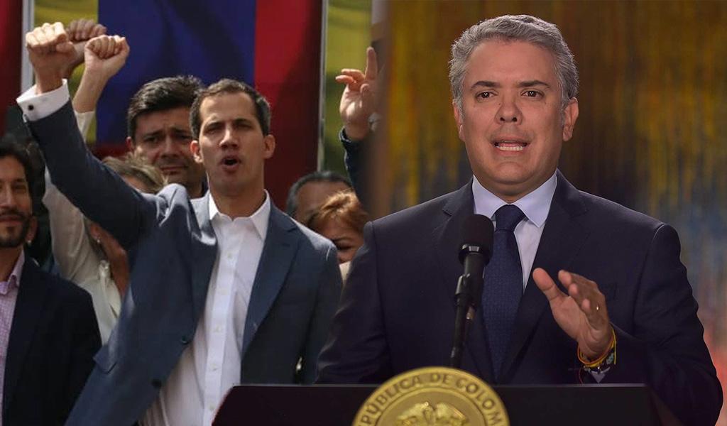 Colombia reconoce a Guaidó como presidente de Venezuela