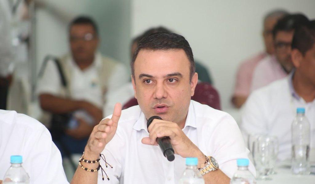 Edwin Besaile regresa como gobernador de Córdoba