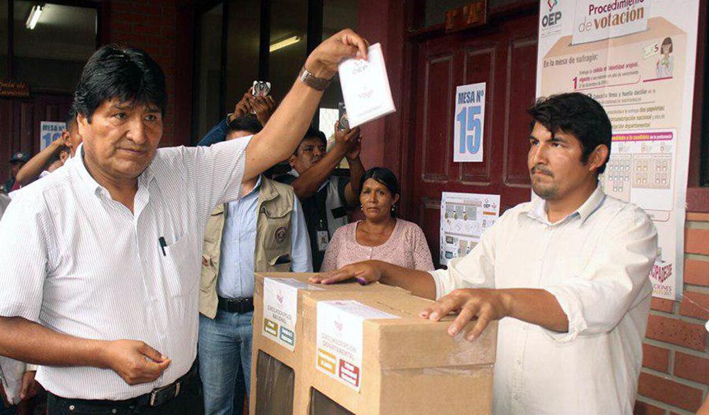 OEA pide explicación por anomalía en elección boliviana