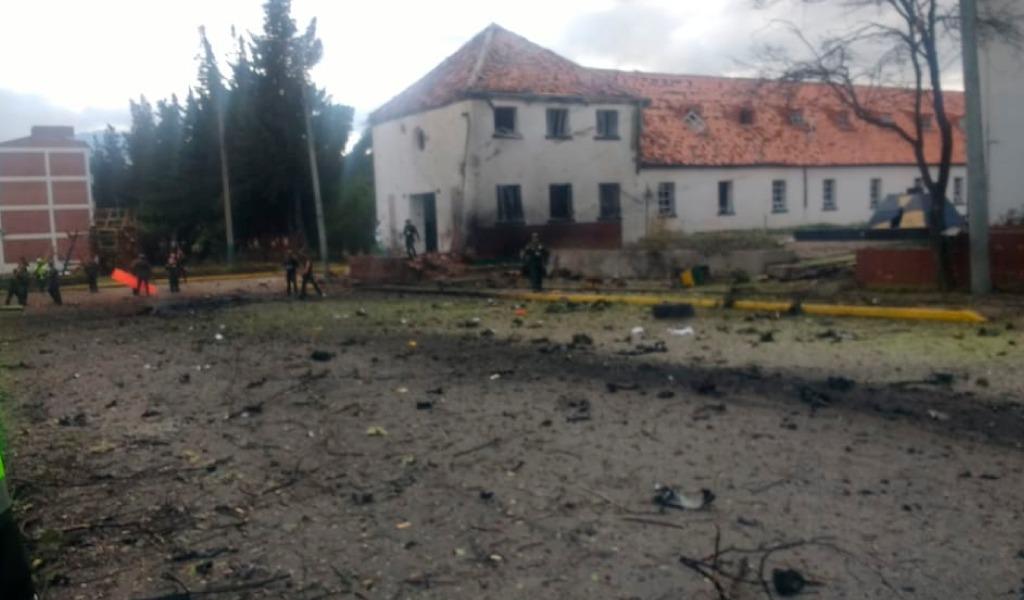 Nuevos implicados en atentado a Escuela Gral. Santander