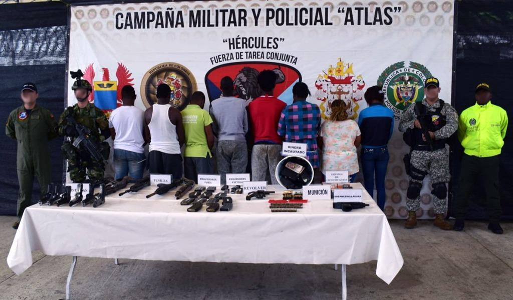Capturados presuntos disidentes de las Farc en Nariño