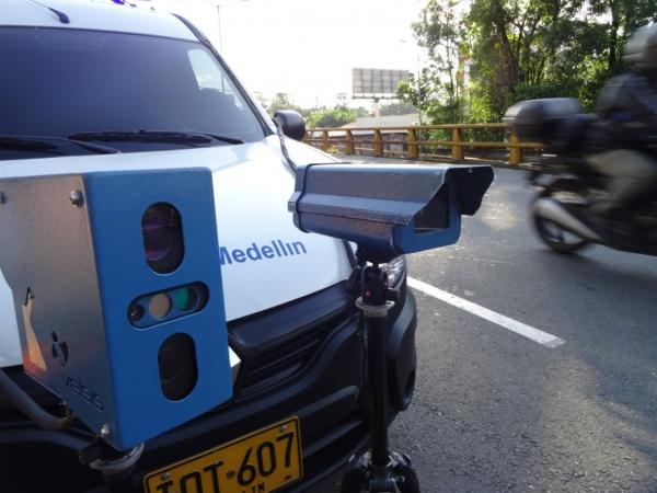 Desde febrero habrá nuevo radar de fotomultas en Medellín