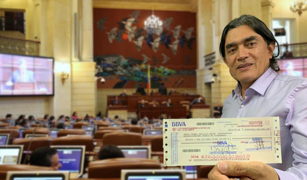 Gustavo Bolívar donará tres meses de su sueldo
