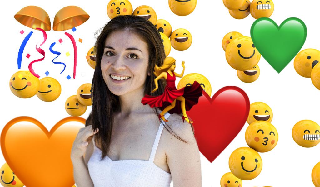 Angela Guzmán, la colombiana que inventó los Emojis