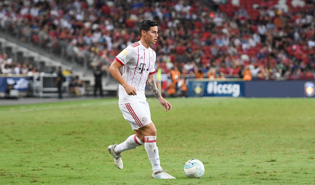 ¿James Rodríguez para el PSG?
