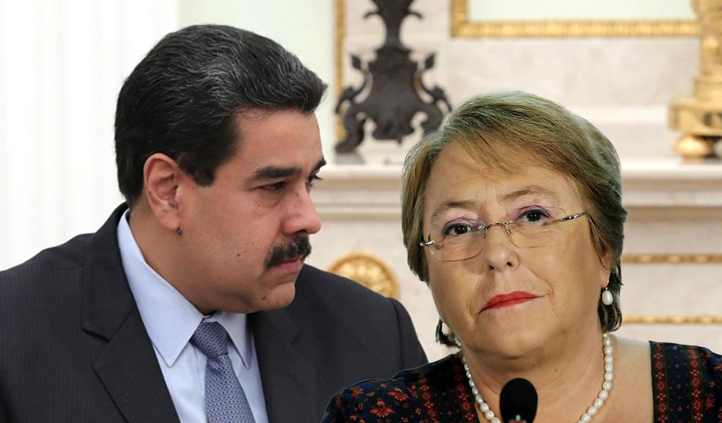 Maduro y Bachelet