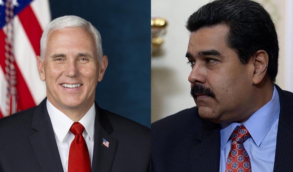"""""""Nicolás Maduro es un dictador ilegítimo"""": Mike Pence"""