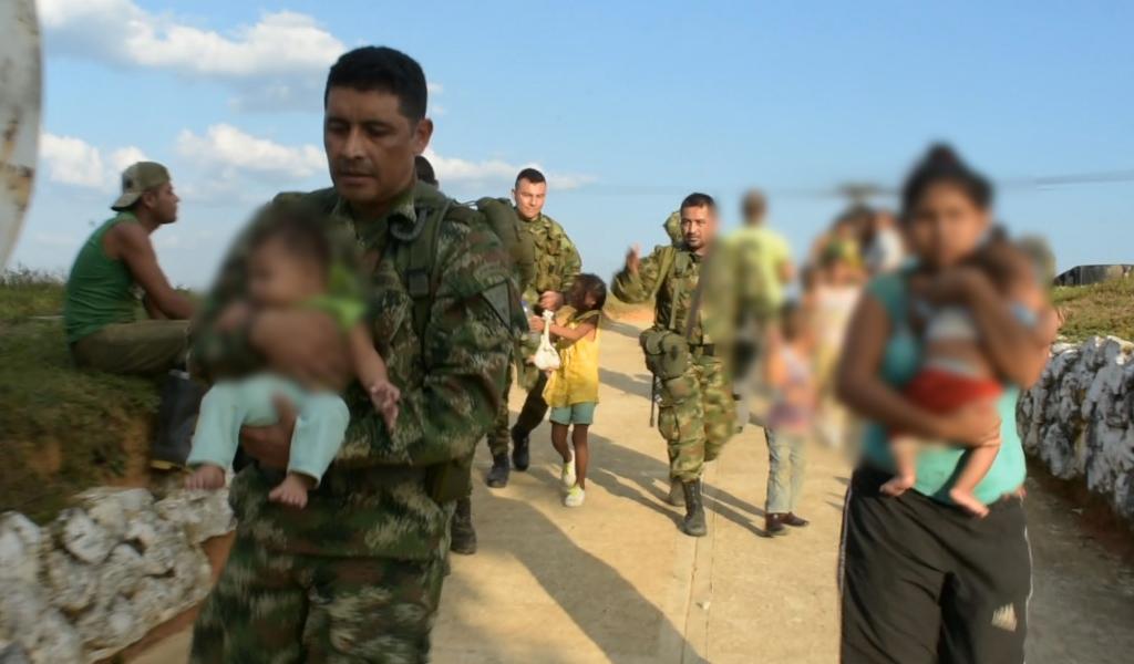 Rescatan a 14 niños de las manos del Clan del Golfo