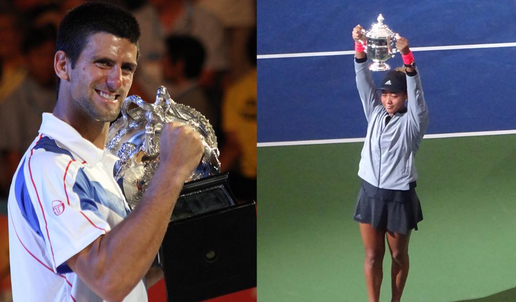 Osaka y Djokovic, los mejores en Australia