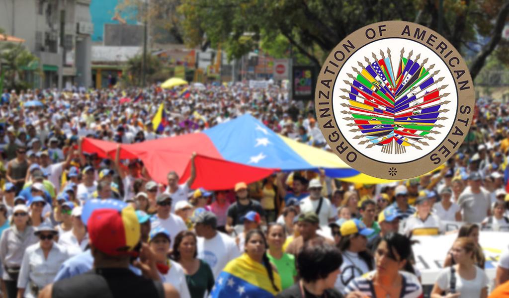 Crisis de Venezuela genera división en la OEA y el globo