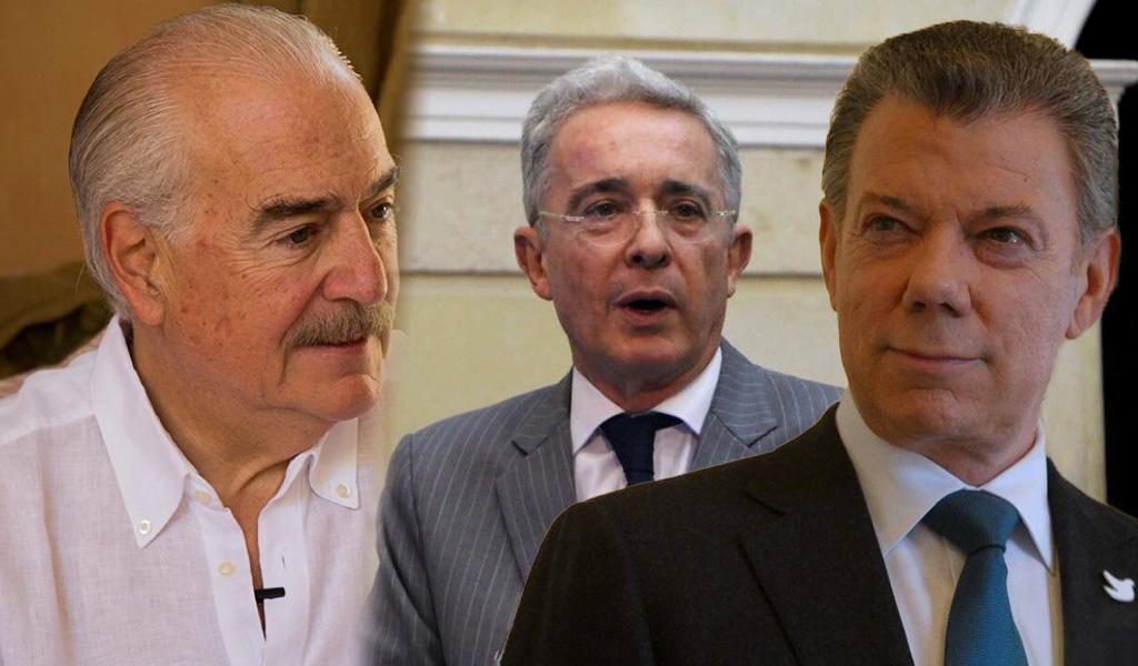 Pastrana y Uribe piden investigar campañas de Santos