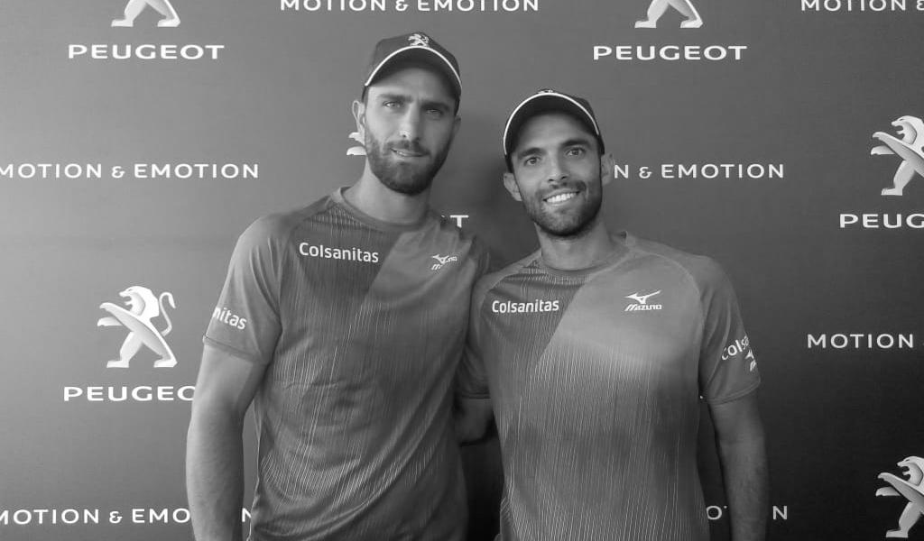Farah y Cabal están listos para la Copa Davis