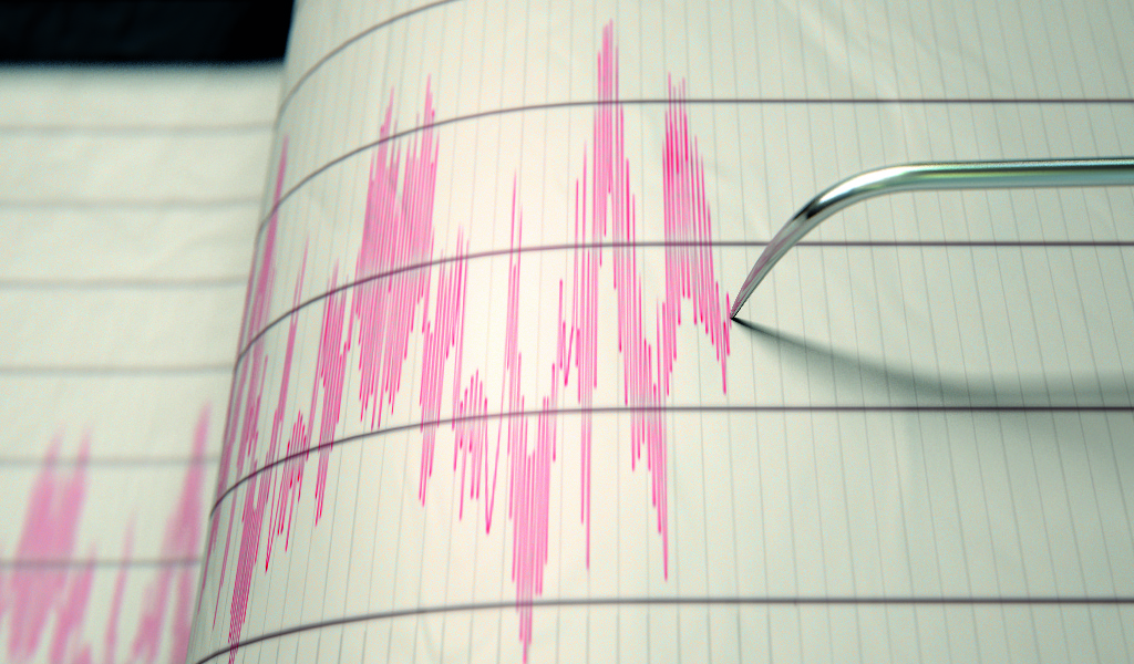 Fuerte temblor se sintió en el centro del país