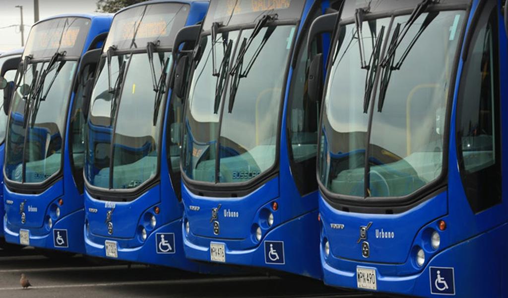 Licitación de buses del SITP fue declarada desierta