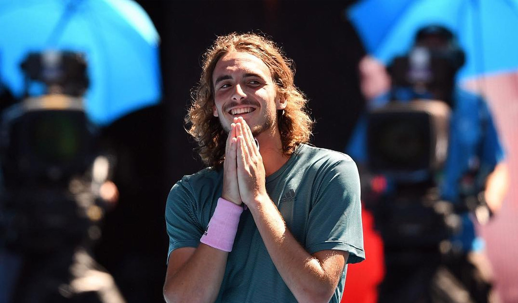 Stefanos Tsitsipas, el tenista revelación en Australia