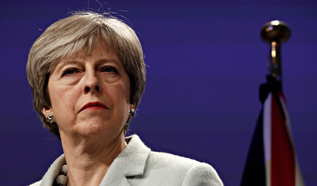 Teresa May insiste en firmar el Brexit