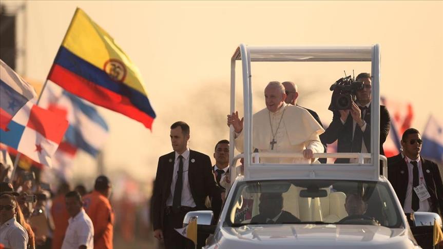 El papa pidió por Venezuela y víctimas de atentado del ELN