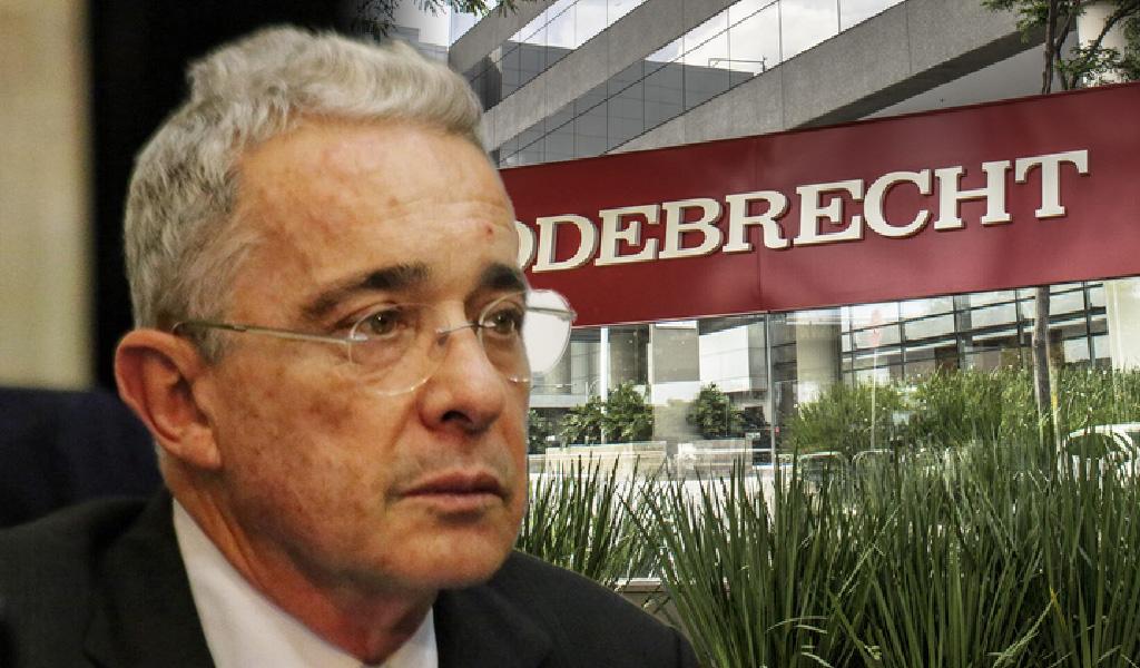 Uribe se defiende de señalamientos por Odebrecht