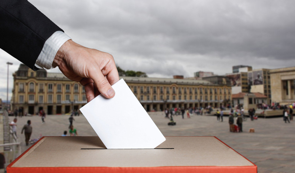 Claudia López encabeza la intención de voto para la alcaldía