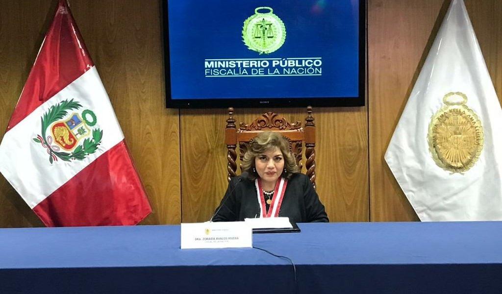 Nueva Fiscal General en Perú por escándalo de Odebrecht