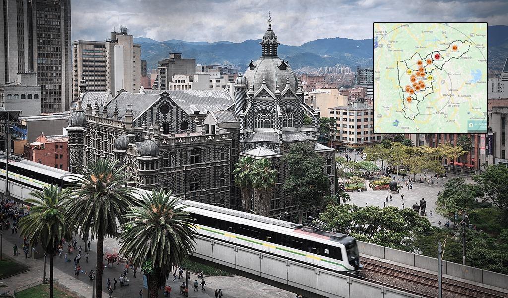 Se dispara contaminación en el aire de Medellín