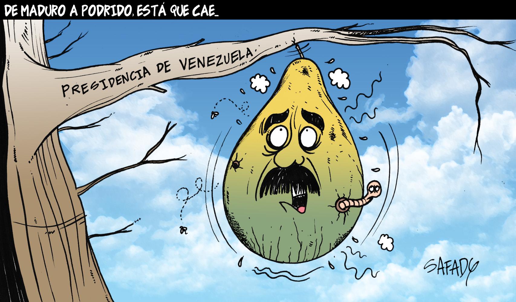 De Maduro a Podrido, está que cae