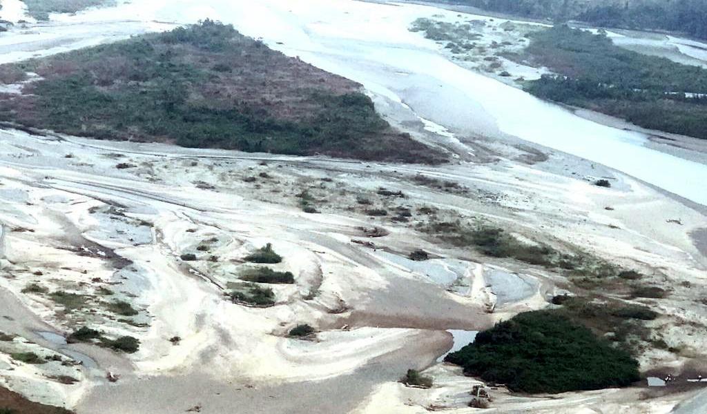 Ambientalistas preocupados por bajo nivel del río Cauca