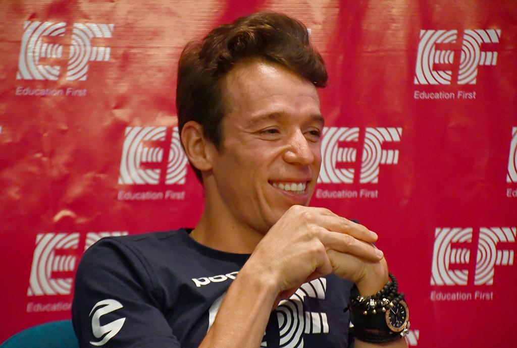 El gesto de Rigoberto Urán en el Tour de Francia