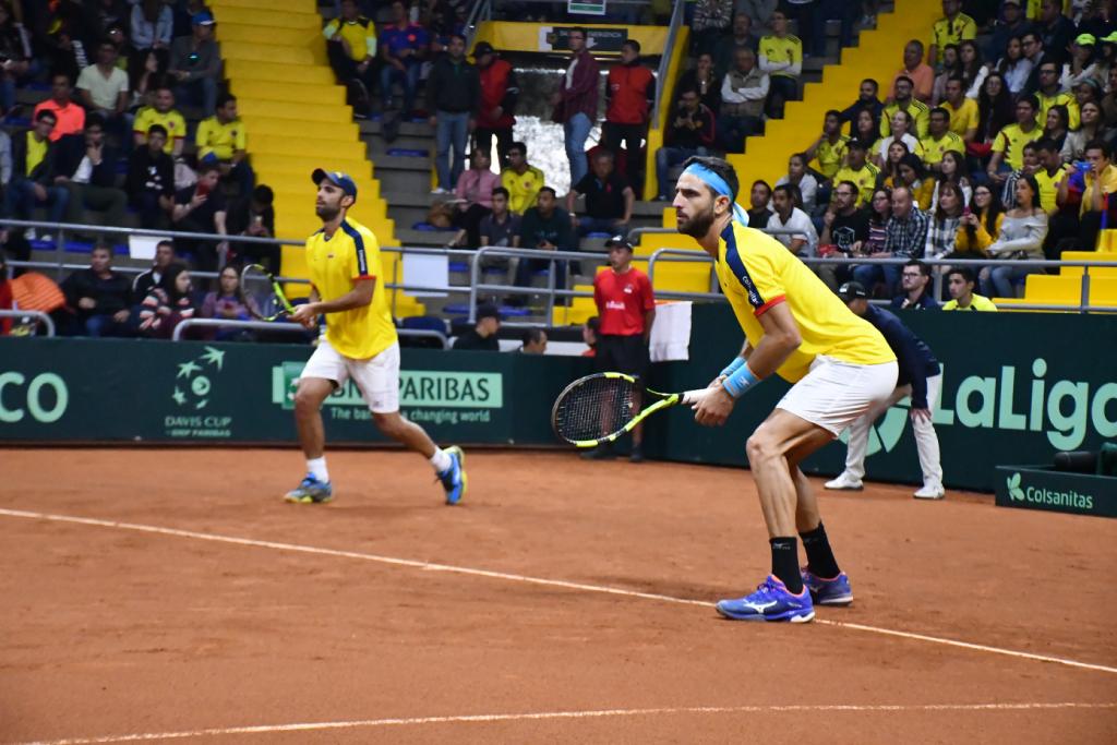 El gesto de Cabal y Farah en la Copa Davis